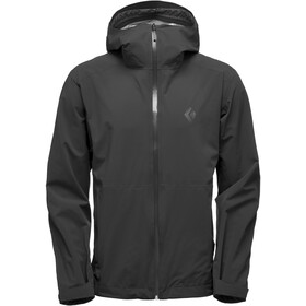Black Diamond Stormline Chaqueta Stretch Rain Shell Hombre, black